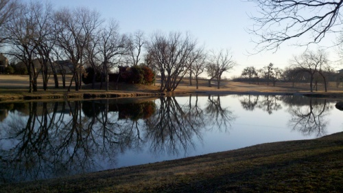 lake in McKinney Texas