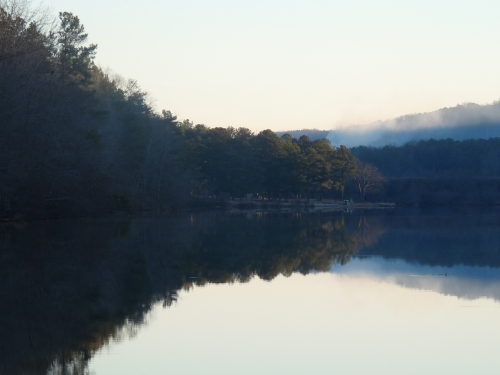 Lake at Oak Mountain State Park