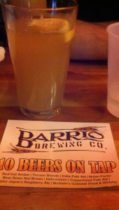 Barrio Brewing Hefeweizen