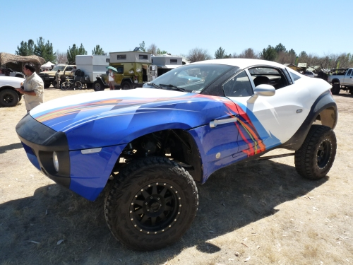 Baja racing vehicle