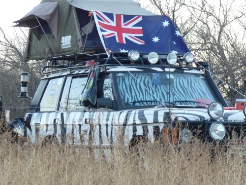 overland expo vehicle