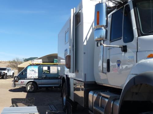 truck and van