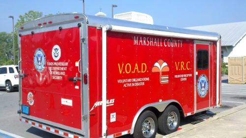 VOAD truck in Guntersville