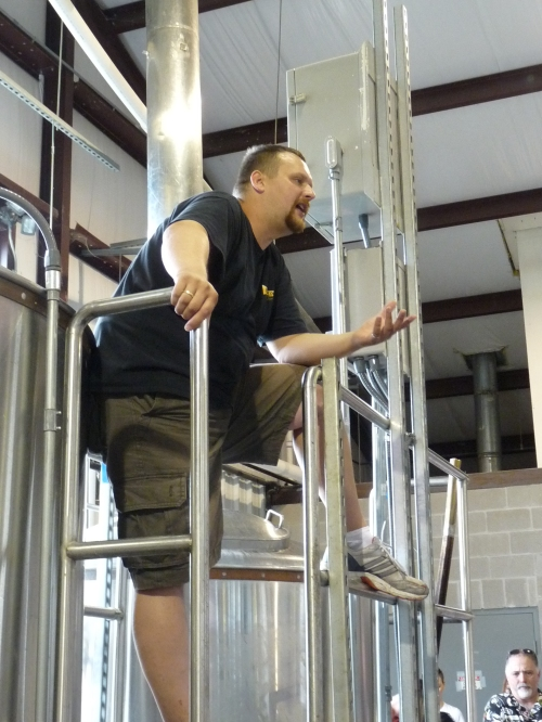 brewery tour Franconia brewing