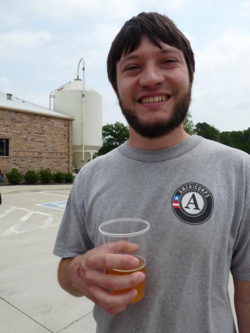 Jay at Franconia Brewing