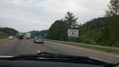 welcome to virginia sign