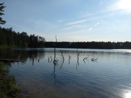 Courtney Lake on the Keewenaw Peninsula