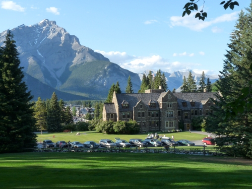 administration building, Banff National Park