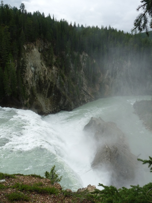 Wapta Falls at Yoho National Park