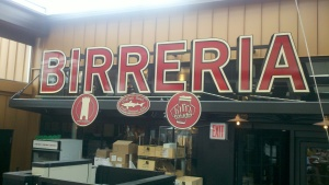 Birreria sign