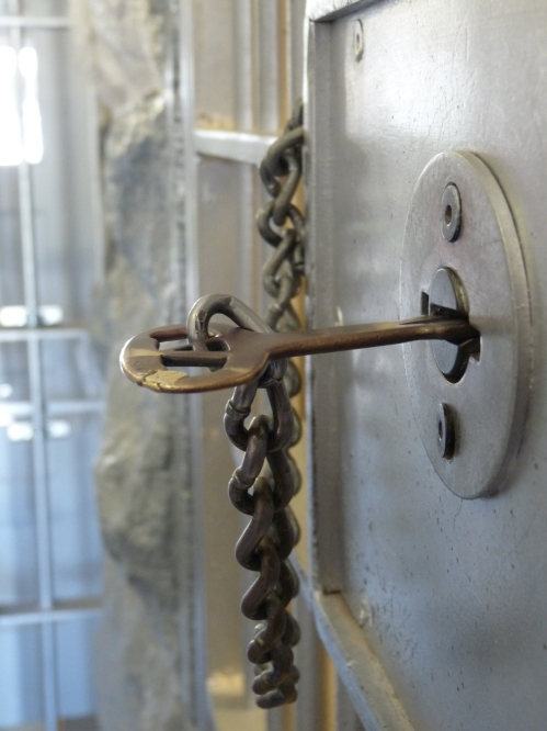 master key at the Boise Territorial Prison