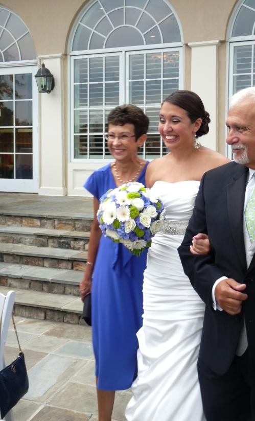 Terri Defazio and parents