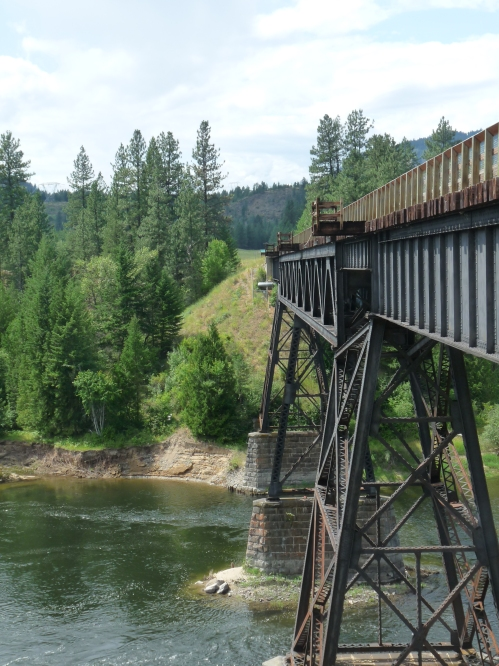 trestle bridge on Kettle Valley Rail Trail