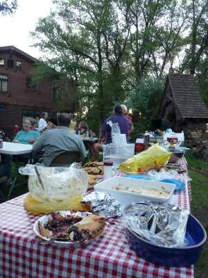 Riordan Mansion volunteer potluck