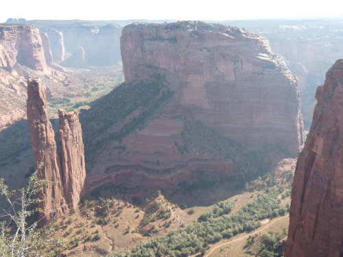 canyon de chelly spider rock view