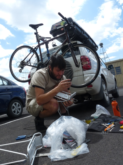 Jay's mobile bike repair shop