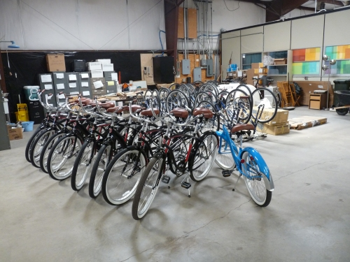 Grand Canyon employee bike fleet