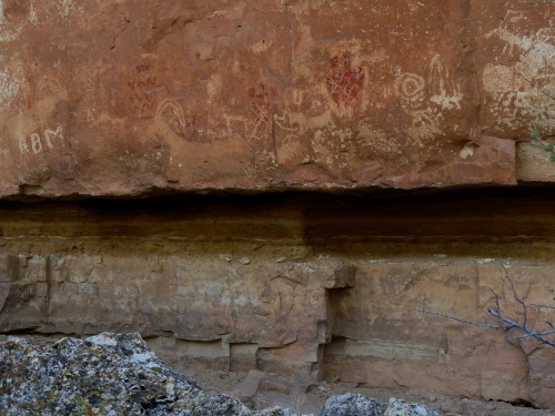Rock art on north Kaibab plateau