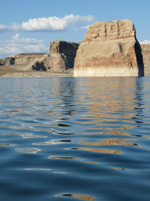 Lone Rock, Lake Powell
