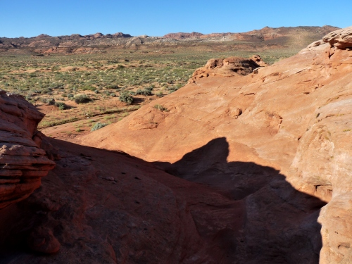 View towards Thousand Pocket Folds north of Paria Canyon