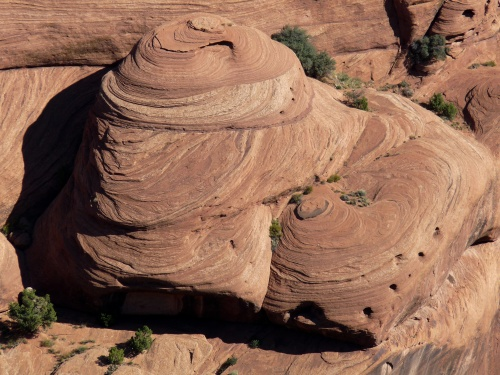 sandstone at Canyon de Chelly