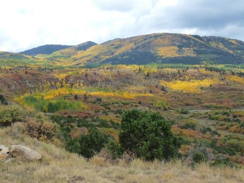 Abajo peak in fall