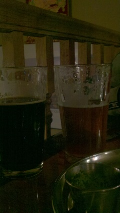 Chai Milk Stout and IPA at Yak and Yeti