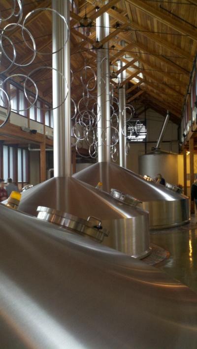Inside New Belgium Brewery