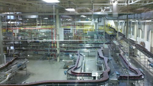 New Belgium bottling line
