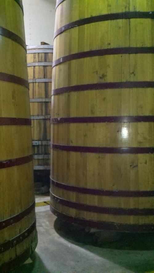 Barrels used for sour beer