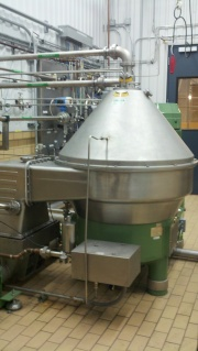 Centrifuge at Odell Brewing