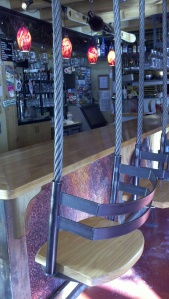 swings in Ouray Brewery tap room