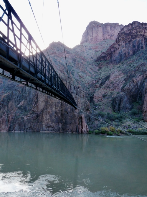 Foot bridge over Colorado River