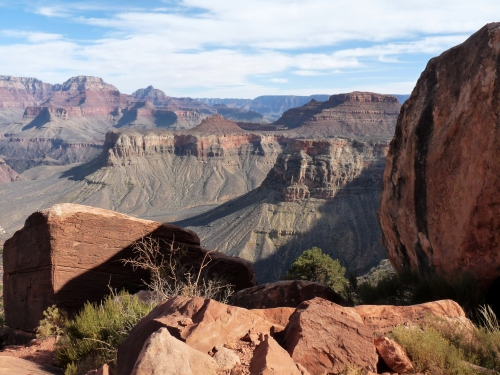 View of Grand Canyon from South Kaibab Trail