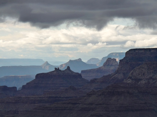 view of Grand Canyon from Desert View Drive