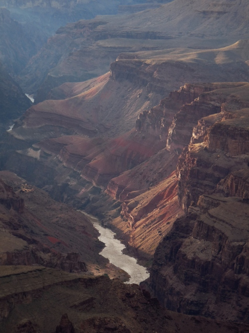 View of Colorado River from point on Desert View Drive