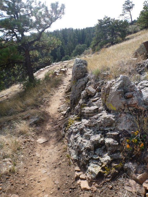 trail at Heil Ranch
