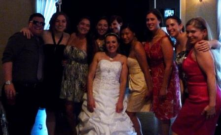 Angela Valerino's wedding