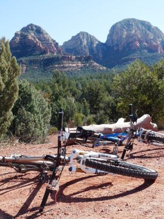 jay and sharon's bikes in sedona