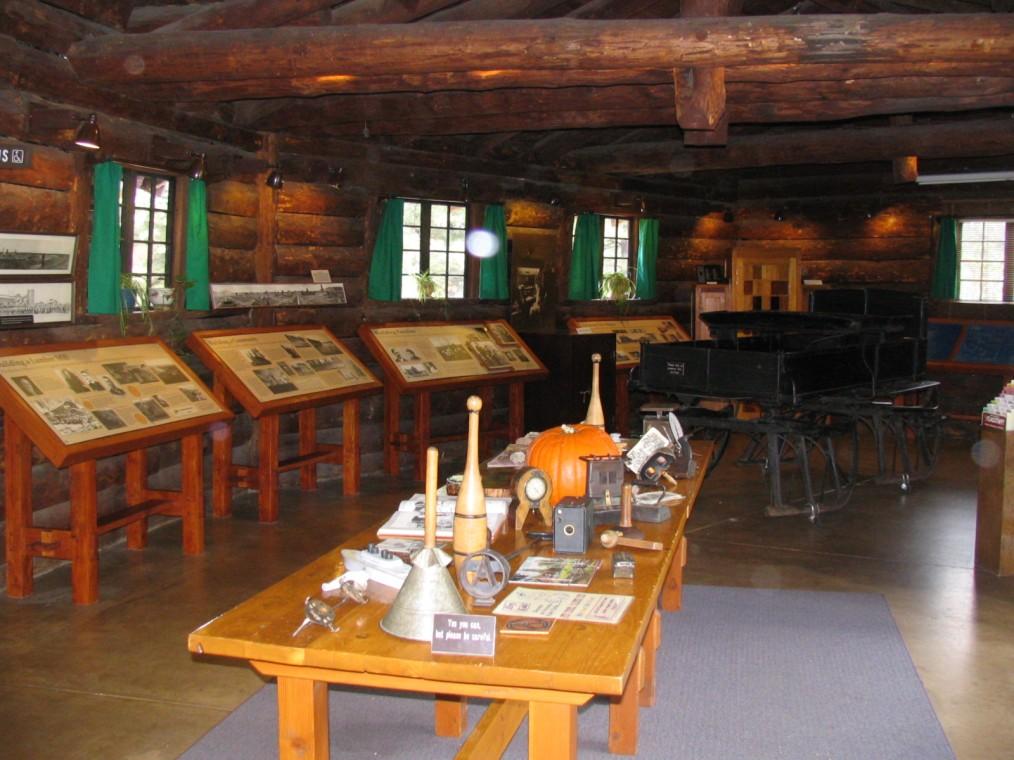 inside Riordan Mansion Visitor Center