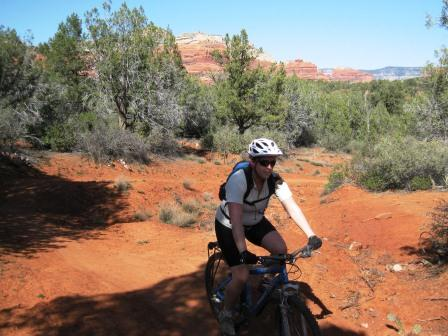 sharon biking in sedona